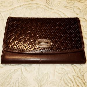 Large Fossil Leather Wallet